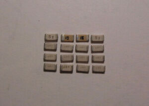 Capacitor Chips 106 04470 0026 As1 Set Of 16 Each New