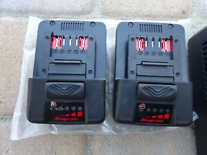 Snap on Ctb8187 18v 5 0am Ctc131 2 Battery 1 Charger