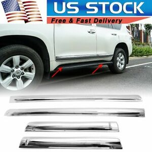 For Toyota Land Cruiser Prado Fj150 2010 2019 Door Body Side Line Cover Trim