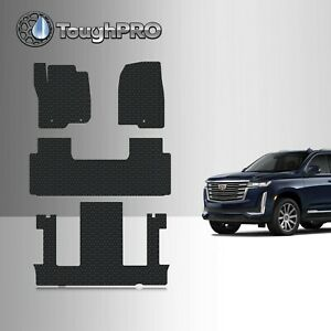 Toughpro Floor Mats 3rd Row Black For Cadillac Escalade Esv 2nd Row Bucket 2021