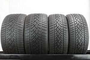 295 30 19 235 35 19 Dunlop Sp Winter Sport 3d Staggered Set Of 4 Used Tires
