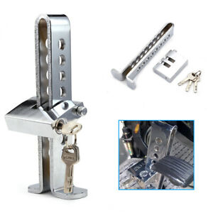 C03 Brake Pedal Lock Security Car Auto Stainless Steel Clutch Lock Anti theft