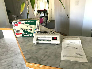 Ibico Gl 4 Small Laminator Small Cards Up To 4 w