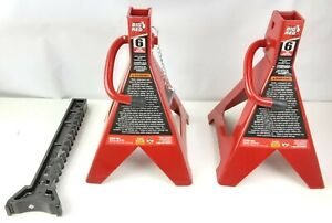 Big Red T46002a Torin Steel Jack Stands Double Locking 6 Ton 12 000 Lb