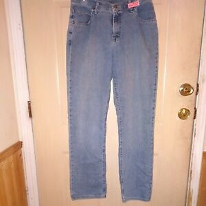 Womans Blue Jeans Riders Lee 12 M $8.50