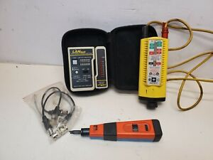 Lot Lantest Network modular Cable Test Kit Ideal Punchmaster Ii Voltage Tester