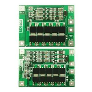 3s 40a Battery Charger Lipo Cell Module Pcb Bms Protection Board For Drill Motor