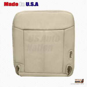 2003 To 2011 Lincoln Town Car Cartier driver Side Bottom Leather Seat Cover Tan