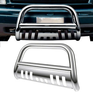 Stainless Bull Bar Grille Guard For Toyota Tundra 2007 2019 Sequoia 2008 2019