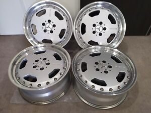 Genuine 18 Bbs X Fuchs For Amg W140 C140 R129 2 Piece Forged Rt 046 Wheels