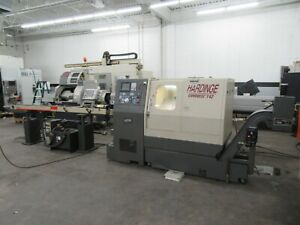 Hardinge Conquest T42 Cnc Slant Bed 2 axis Turning Center With Tailstock