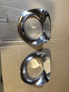 1955 1956 1957 Chevrolet Gmc Truck Headlight Bezels Chrome