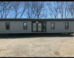 Office Trailer 4 Bed Or 4 Office Room For Sale 24 x70 With Entry Steps 45 000