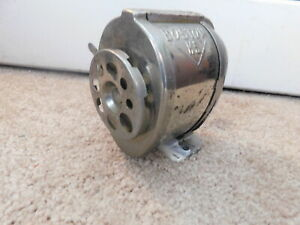 Vintage Boston Ks Metal Desktop Wall Mount Hand Crank Pencil Sharpener