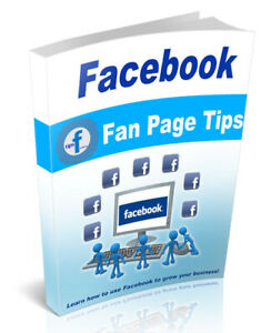 Facebook Fan Page Tips Pdf Ebook With Resell Rights Fast Delivery