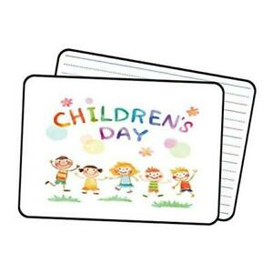 Small Dry Erase Board For Kids Double Sided White Board For Student Black