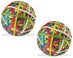 Color Rubber Band Ball 135 Gm X 2 Pack Of 2