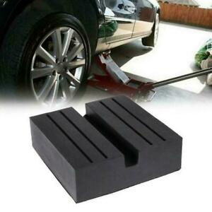 Heavy Duty Jack Rubber Pad Anti slip Rail Adapter Support Block For Car