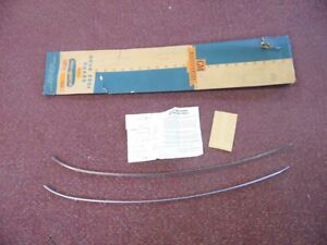 Nos Pontiac 1953 1954 Full Size Accessory Door Edge Guard Kit 2 Dr 25