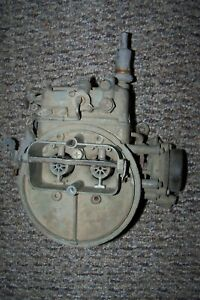 Holley 2 Barrel Carb Stamped 8209 0859 For Parts Or Repair