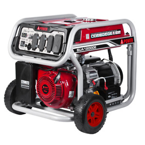 9000 watt Gasoline Powered Electric Start Portable Generator