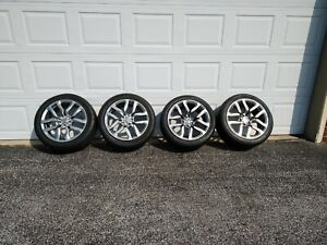 18 Nissan 370z Factory Oem Wheels With Tires 2010 2020 staggered Set