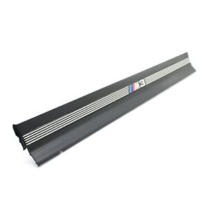 1995 1999 Bmw M3 E36 Front Door Trim Molding Sill Step Cover Black Convertible