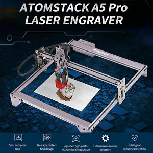 40w Laser Engraver Cnc Desktop Engraving Cutting Machine Atomstack A5 Pro Us