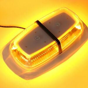 72 Led 5730 Smd Amber Car Roof Strobe Flashing Emergency Warning Light Bar