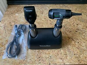 Welch Allyn Desk Charger 7114x Opthalmoscope 11710 And Otoscope