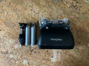 Welch Allyn Desk Charger 71140 7114x Opthalmoscope 11710 And Otoscope