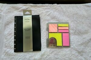 Lot Of 2 Tul Custom Note Taking System Accessories self Stick Notes And Storage