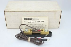 Keithley Model 1651 50 Ampere Shunt Multimeter Accessories Dmm Test Equipment Ap