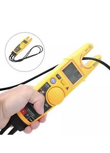 Fluke T6 1000 Digital Non contact Volt Amp 100k Ohm Clamp On Meter
