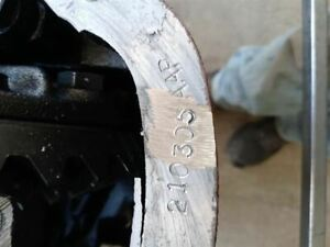 Front Axle Srw 3 31 Ratio Fits 11 12 Ford F250sd Pickup 392185