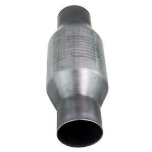 410250 Inlet Outlet 2 5 Inch Universal High Flow Stainless Catalytic Converter