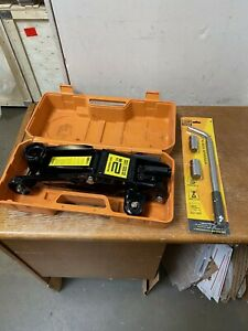 Open Box 4000 Lb Hydraulic Jack Car Auto Floor Type Repairing Tool Lifter 2 Ton
