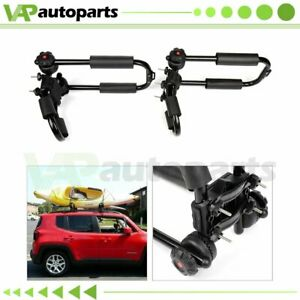2pcs Kayak Roof Rack Universal Cross Bars Canoe Boat For Truck Top Mount Carrier