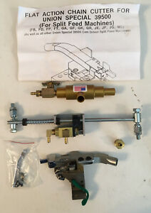 nos 12999 flat Action Chain Cutter for Union Special 39500 free Shipping