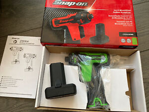 Snap On 14 4v Cordless Screwdriver Cts761agwb With 1 Battery Green