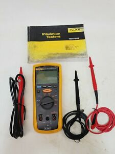 Fluke 1507 Insulation Resistance Tester With Leads And Manual