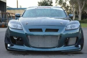 Se3p Rx 8 Mazdaspeed Style Front Bar Canards