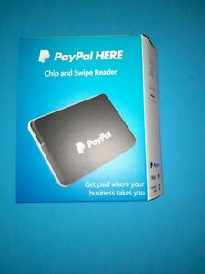 Paypal Here Chip And Card Swipe Reader New Open Box