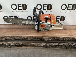 Stihl Ms360 Pro Chainsaw Strong Running 62cc Saw W 18 Bar chain Ships Fast