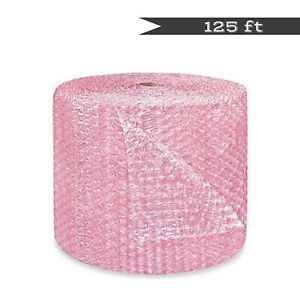 125 X 24 Bubble Cushioning Wrap Anti static Roll Package Mail Padding Large