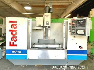 2001 Fadal Vmc 4020 Vertical Cnc Machining Center Rigid Taping Extended Z 28