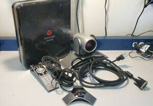 Polycom Hdx 8000 Hd Ntsc Video Conference System Base Unit Camera Mic