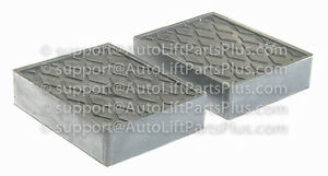 1 1 2 Tall Solid Rubber Stack Blocks For Any Auto Lift Or Rolling Jack Set Of 2