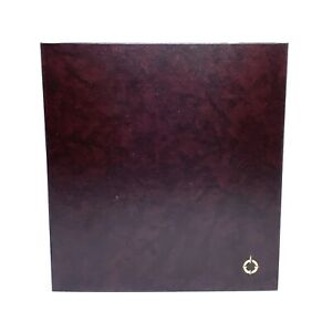Franklin Covey 3 Ring Storage Binder Blank Satellite Weekly Compass Pages More