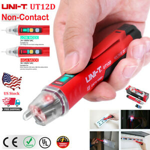Uni t 90 1000v Led Light Non contact Tester Pen Ac Electrical Voltage Detector